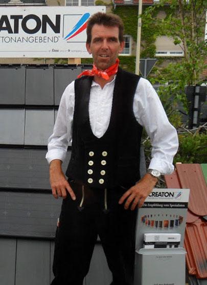 Dachdeckermeister Gerd Hornig